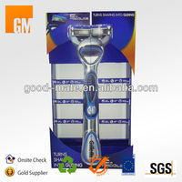 Gillette Shaving Razor Cardboard Promotion Display Racks
