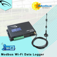 12v wall mount Modbus Wi-Fi Data Logger power meter wifi pc software