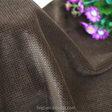 China manufacturer warp knit grain brown cationic velvet fabric for garment cloth