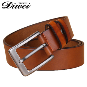 Fashion business design high quality alloy needlepoint buckle italy leather belts for men
