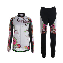 TVSSS Manica Lunga Cycling Jersey Set Invernale In Pile Termico Ciclismo Bike Abbigliamento Suit per le Signore Cube Abbigliamento Ciclismo