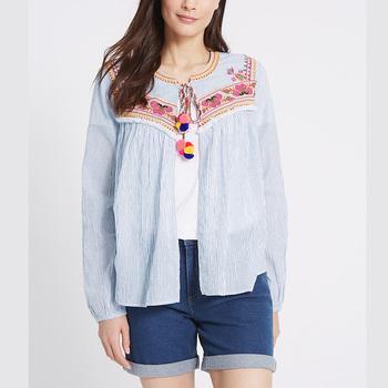 Bordado Buy Product Mujeres On Mujer camisas camisetas 2018 Bordadas Mexicanas Mexicano Camisas De T3Jluc5FK1