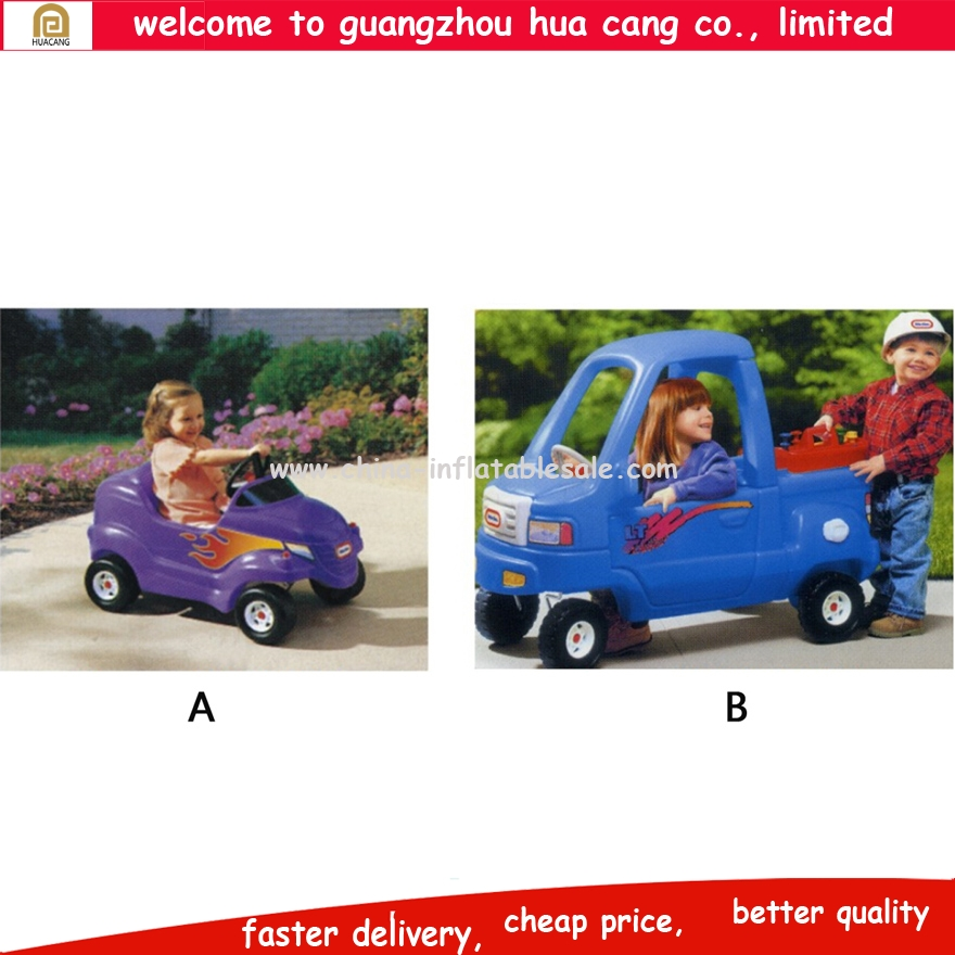 Good quality 4 wheels plastic baby push toy car
