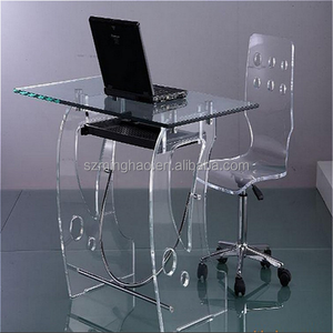 Clear Acrylic Computer Desk Supplieranufacturers At Alibaba