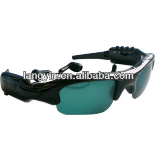 HD Pop Video Camera Glasses MP3 Music Player
