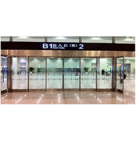 Automatic Telescopic Sliding Door for Airport sliding door automatic system