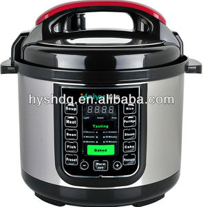 High quality and low price intelligent electric pressure cooker hot sales in 2014