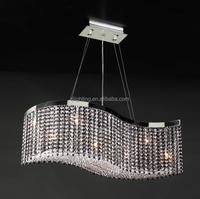 Light fixtures homes Dining Room Art Lights Indoor LED Modern Crystal Chandelier