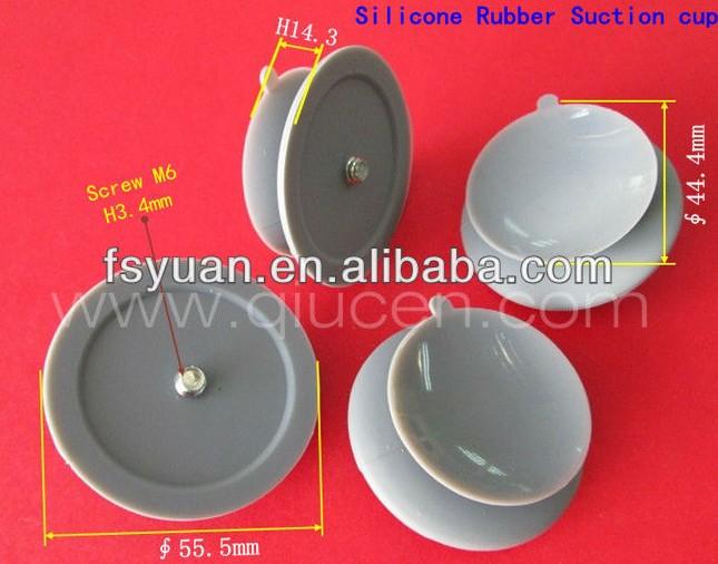 ventouses pour table en verre trempéen siliconeavec vis