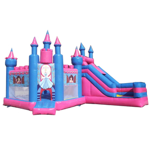Inflatable frozen bouncy castle with Elsa and Anna inflatable princess jumping bouncy castle for sale