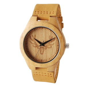 natural red sandalwood watch made in china hand made wooden watch