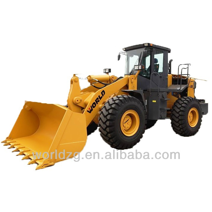 rock bucket wheeled loader with 220hp engine (W156)