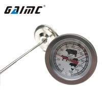 GWSS dial 80mm straight type steak thermometer