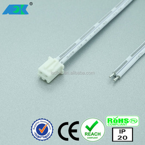 24V LED cable flat electronic connectors wiring mini plug 2 pin male connector (JST connector )
