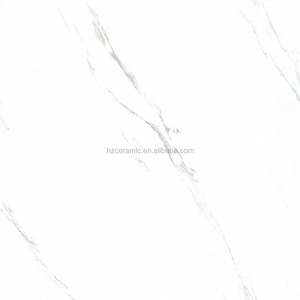 glazed full polished marble look glossy porcelain floor tile HZ-9A800