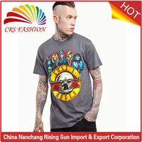 2017 fashion popular streetwear clothing rock and roll t-shirt bangladesh t-shirts