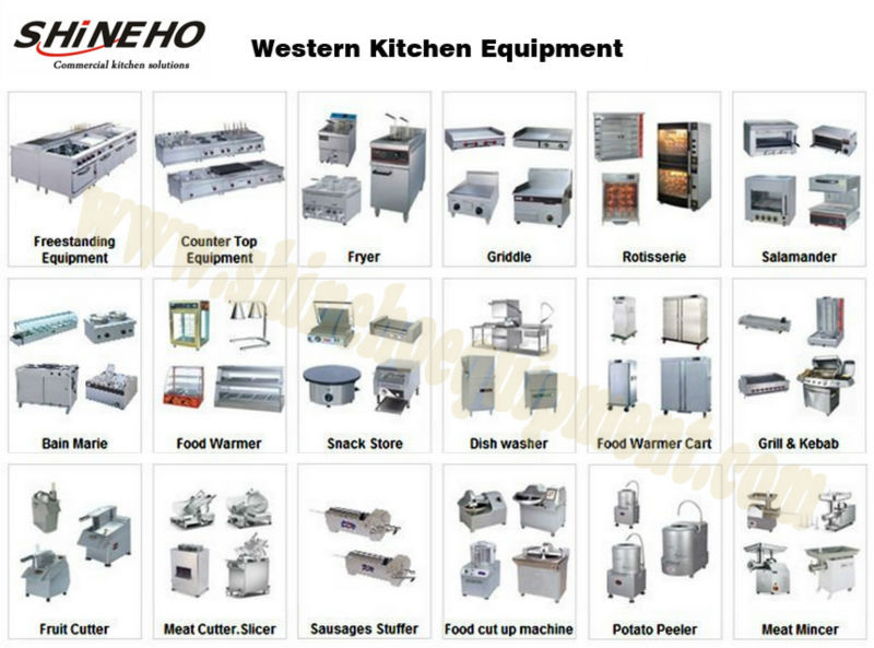 W084 Kitchen Equipment Electric Cooking Range For Hot