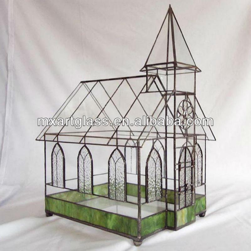 Mx130005 Stained Glass Terrarium Indoor Plant Holder Buy Indoor