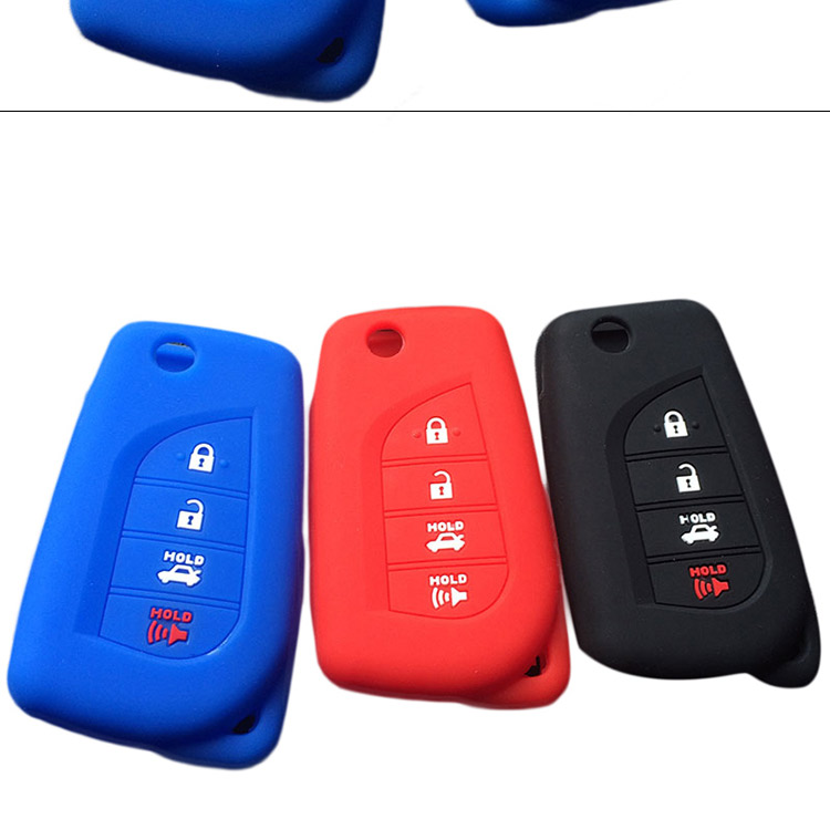 AS063032 Silicone Remote Key Cover for Toyota