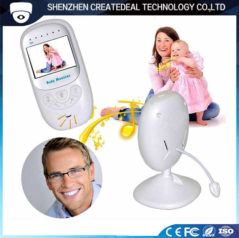 2.4 Inch TFT LCD Screen Baby Crying Detection Night Vision Two Way Communication Wireless Video Baby Monitor