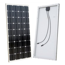 solar panel 12v 100w for 1kw wind solar hybrid power system