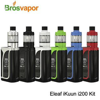 New Arrival Original Eleaf iKuun i200 Kit 4600mAh 200W 6 colors
