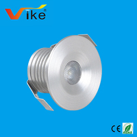 High quality 1w recessed led cabinet light under cabinet kit with ES driver