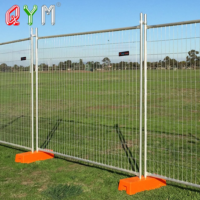 cheap galvanized 50x100mm steel temporary fence gate