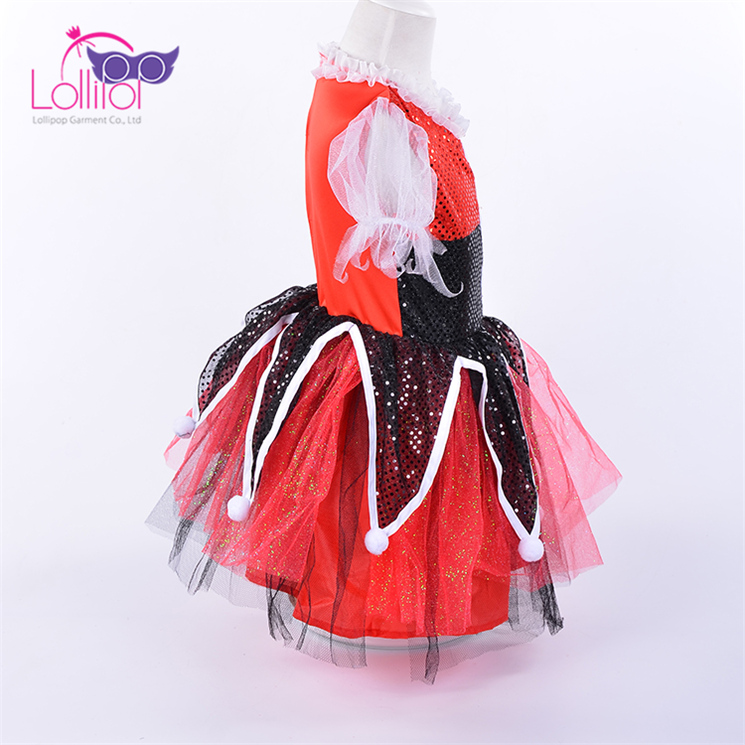 Wholesa clown halloween costumes child girl,clown fancy dress