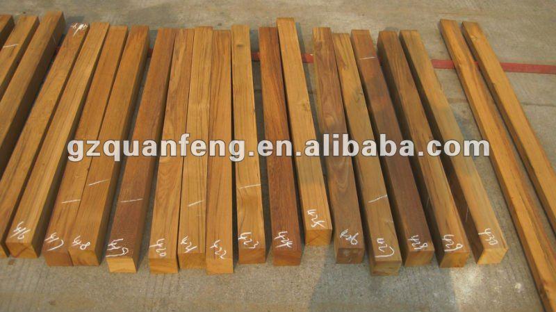 Birmanie teck ext rieur bande de bois decking parquet id for Plancher teck exterieur