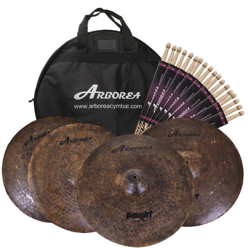 Musikinstrumente Drum Set Becken/Ritter Cymbal set