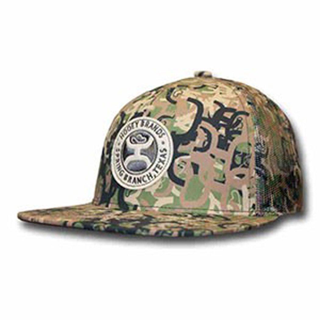 online store 7e208 45f9c Get Quotations · Hooey Camo Mesh Snapback Trucker Hat
