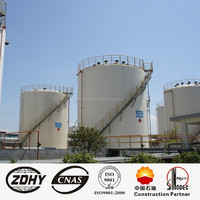 Engineers available to service machinery oil tank industrial oil storage tank manufacturer