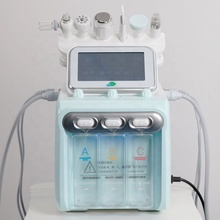 W05X-II 2019 Newest Multifunction 6 in <span class=keywords><strong>1</strong></span> h2o2 machine Hydrogen <span class=keywords><strong>Aqua</strong></span> Peel Oxygen Small Bubble Facial Machine