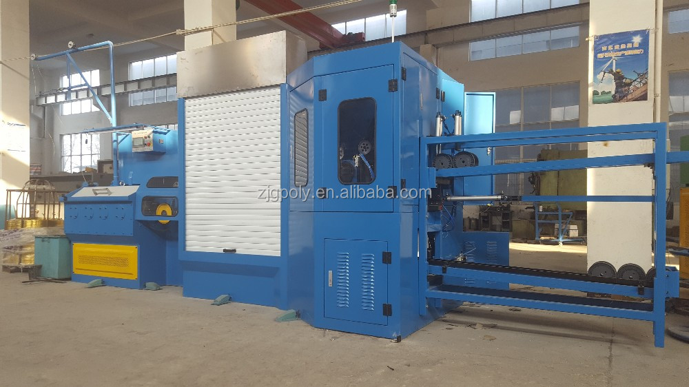 Brass Edm Wire Drawing Machine With Full Automatic Bobbin Changing ...