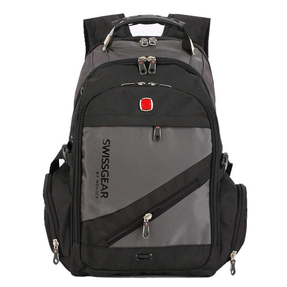 e03bfaff2fc Get Quotations · Aquarius CiCi Swiss Gear Business Bags Business Slim Laptop  Backpack Water Resistant Travel Outdoor College School