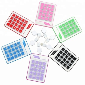 Custom 18 Key Slim Number Pad Numerical keypad for keyboard