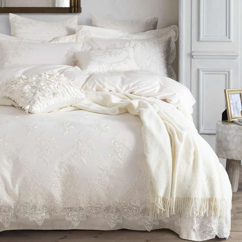 Funda Nordica Zebra.Wholesale 100 Egyptian Cotton Bedding Set White Luxury Embroidered