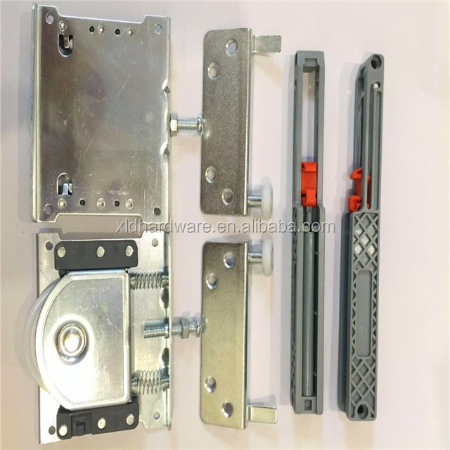 soft close mechanism for cabinet door slide/automatic sliding door rollers