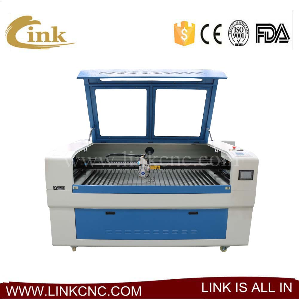 Efficient laser wood cutting machine price 1390 1290 with blade table/honeycomb table 1300*900mm