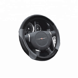 Promotional punched PU car steering wheel cover