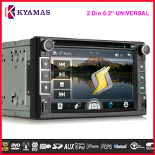 Car Electronic double din Car DVD Player GPS Navigation 6.2 inch Universal Car Radio In Dash Bluetooth Stereo Video