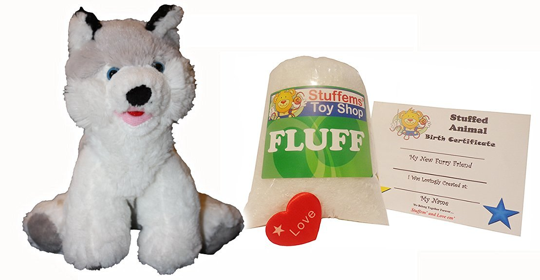Buy Make Your Own Stuffed Animal Mini 8 Inch Loveable Husky Dog Kit
