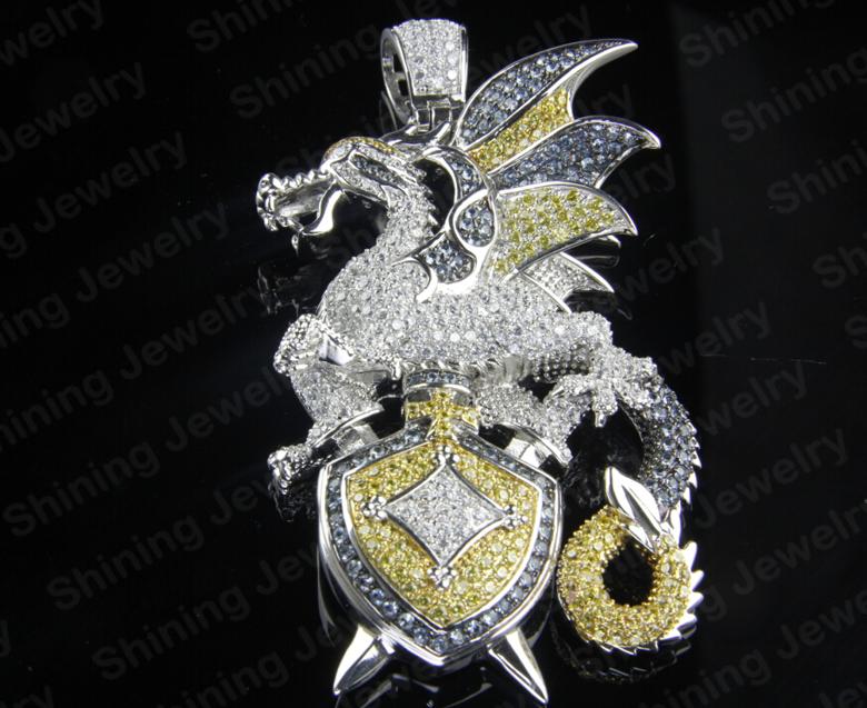 Large hip hop cartoon cz 316l stainless steel custom jewelry logo large hip hop cartoon cz 316l stainless steel custom jewelry logo pendant aloadofball Images