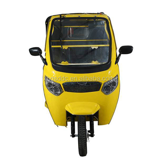 2018 cheap adult electric tricycle rickshaw for passenger hot sale