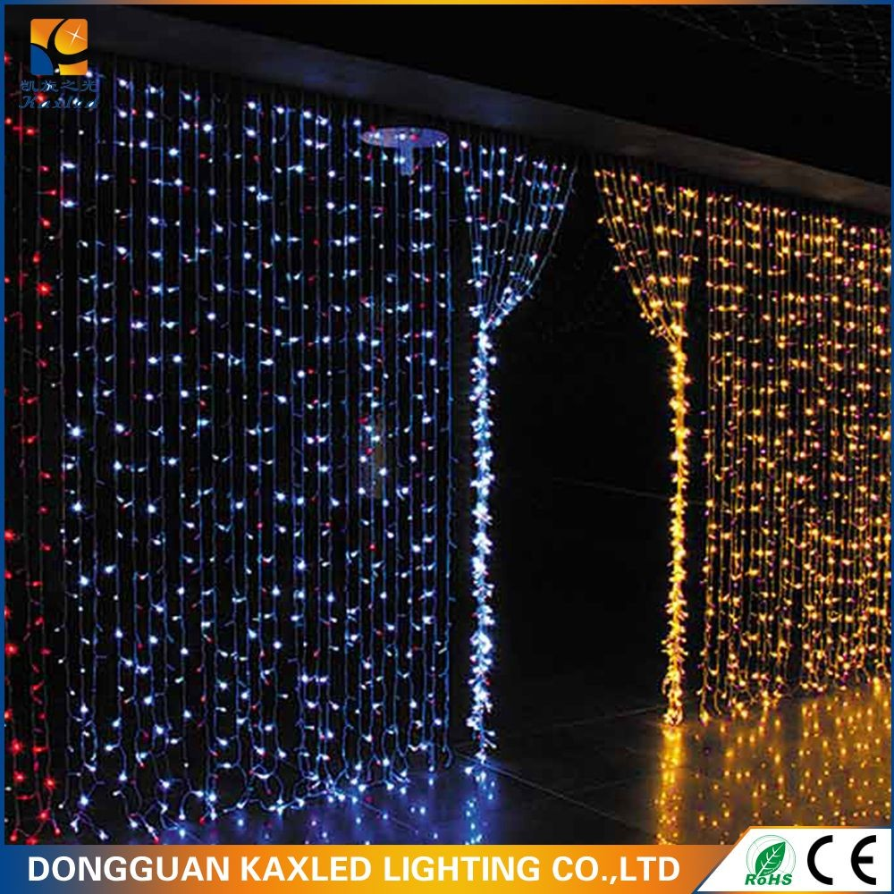 110V 2mx2m Christmas connectable led curtain light building decoration