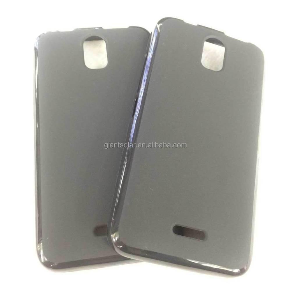 Matte Pudding Soft Gel Case Tpu Cover For Kazam Trooper 455