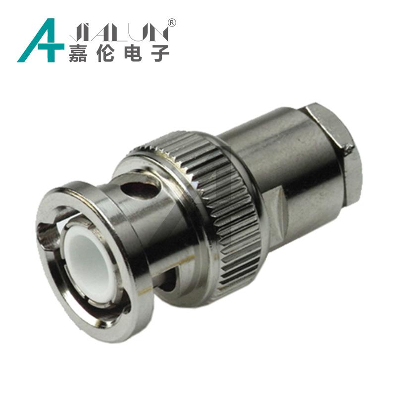 BNC-conector Crimp-versi/ón para cable RG 58 U di/ámetro de 5,0 mm 20 unidades
