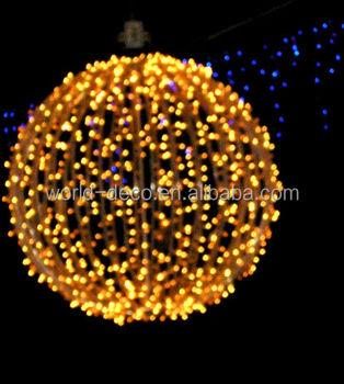 Christmas Light Spheres / Led Christmas 3d Ball Light