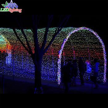 Change Color Waterproof Fishing Decorations Led Tunnel Light Buy